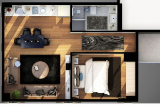 Senior apartment floor plans